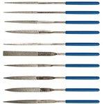 Надфиль FIT 42171 алмазные пвх ручка 3х140х50мм 10шт.