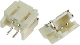"""PH02W-R1K-H-CN (MW-2MSR) (MW-2MRS), Разъем пит-я/сигнал. """"вилка"""" 2 конт.(1x2) шаг 2.00 мм, горизонт., поверхн. монтаж на плату (PH тип)"""