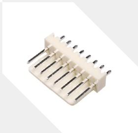 """MK08D-H (WF-8), Разъем пит-я/сигнал. """"вилка"""" 8 конт.(1x8) шаг 2.54 мм, вертик. на плату"""