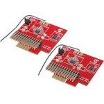 AC164137-2, Дочерняя плата, MRF49XА, РЧ TXRX (868/915 MHz) ...