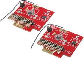 AC164137-2, Дочерняя плата, MRF49XА, РЧ TXRX (868/915 MHz), поддержка программного стека MiWi и драйвера Radio U
