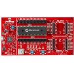 DM164136, Макетная плата для 28 и 40-пин 8-бит PIC MCU ...