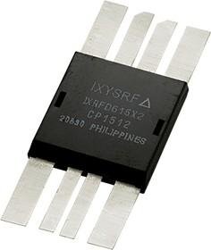 IXRFD615X2, Драйвер RF MOSFET, Dual Low-Side, пиковый выходной ток 15А
