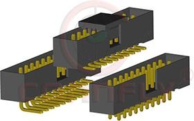 DS1014-24 SF1B (BH2-24) (IDC2-24MS), Вилка 2мм 2x12, вертик. на плату