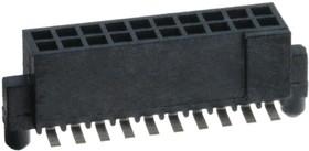 """87024-610TRLF, Разъем """"гнездо"""" 20 конт.(2x10) шаг 1.27 мм (1.27x1.27), поверхн. монтаж на плату, H=4.75 мм"""