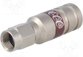 """PCT-TRS-11LMG, Вилка; F; """"папа""""; прямой; 75Ом; RG11; 10,55мм; компрессионный; 3ГГц"""