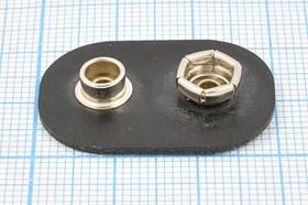 "Батарейный контакт для элемента ""Крона""; № 9089 бат держ крона конт\\""+""&""-""\ 2C\BS-M-2B\30x21 твёр"