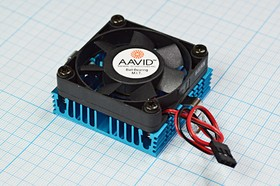 Фото 1/3 Вентилятор 12В с радиатором охлаждения 6390 вент 50x50x10m22\ 12В\\2L\ШП\CPU COOLER