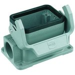 Фото 3/3 19300061250, Shrink Boot Adapter Housing Right Angle Dust Gray