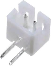 "PH02R-H (MW-2MRA), Разъем пит-я/сигнал. ""вилка"" 2 конт.(1x2) шаг 2.00 мм тип A, прямой угол на плату (PH тип, выводы с"