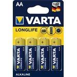 4106(A316/LR6/AA)4, Элемент питания алкалиновый LONGLIFE ...