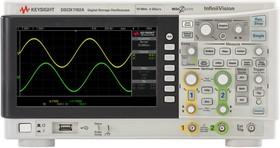 DSOX1102A, Цифровой запоминающий осциллограф, 70/100 МГц, 2 канала, Keysight Technologies (США)