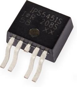 IPS5451S, Мощный MOSFET ключ верхнего уровня, с защитой [D2-PAK-5]