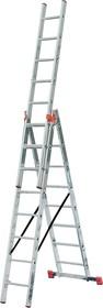 Трехсекционная универсальная лестница TRIBILO 3х8