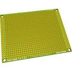 PCB 70x90 green, Плата макетная, 70мм х 90мм, PCB (шаг2.54мм)
