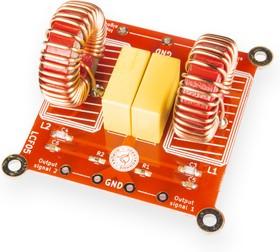 Фото 1/2 LCF05, Выходной LC-фильтр второго порядка для усилителей мощности класса D