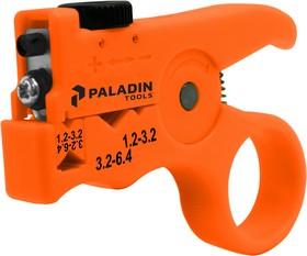 TE-TCCPS, Стриппер прищепка Paladin Tools TCCPS для продольной и поперечной резки 1.2 - 6.4 мм