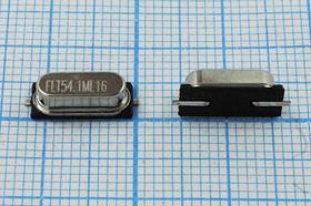 кварцевый резонатор 54.1МГц в корпусе HC49SMD, 3-ья гармоника, 54100 \SMD49S4\16\ 15\ 15/-20~70C\HC-49SMA\3Г