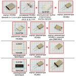 Фото 2/2 Держатель кварцевых пьезоэлементов в корпусе HC49U, для пьезоэлемента диаметром 8.0мм, корпус \HC49U\основание(8,0/ 0,25мм\\\KBD-AH-GE801A