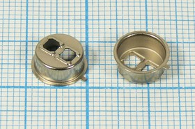 Крышка с двумя прорезями для оптических датчиков и излучателей, корпус \TO39\GEC- TO3228C\\мет\2отв d крышка