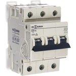 Автоматический выключатель 3P, D, 3 А, 10 кА, 230/400 В AC, серия Т D3T3