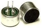 Фото 1/2 EM-9767P, Микрофон электретный с выводами, 4.5 В, 10мм (SG-15EP,CZN-15E)
