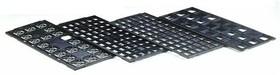 Tray LQFP 10х10, 1.4mm (matrix 8 х 20), Лоток для упаковки микросхем в корпусах LQFP/TQFP-44/64