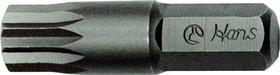 """Бита двенадцатигранная XZN короткая на 5/16"""" 10 мм 082-4M10"""