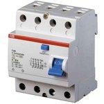 Выключатель дифференциального тока (УЗО) 4п 63А 100мА тип AC ...