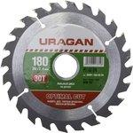 Круг пильный твердосплавный URAGAN 36801-180-30-30 ...