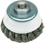 Кордщетка METABO 623796000 стальная 70мм М14 чашка 0.35мм закален.