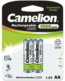 Аккумулятор R6 NI-Cd 1000мА.ч BP-2 (блист.2шт) Camelion 6181