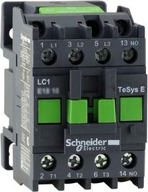 Контактор 3п 25А 1НО 380В AC TeSys E SchE LC1E2510Q5