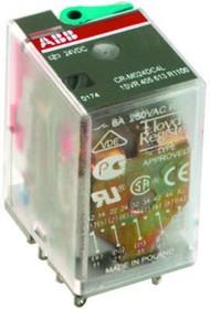 1SVR405613R1000, Промежуточное реле 24V 6A 4ПК (DC) (CR-M024DC4) | купить в розницу и оптом