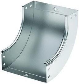 Угол CS 90 вертикальный внутренний 90 градусов 200/100 в комплекте с крепежными элементами и соединительными пластинами