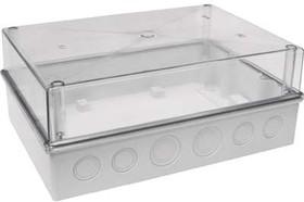 Корпус пластиковый 300х214х120 IP55 прозрачная крышка КМПн 5/16