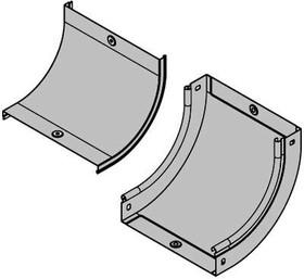 Фото 1/2 Крышка на угол вертикальный внутр. CS90 осн. 400 DKC 38206