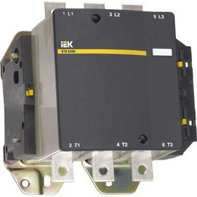 Контактор КТИ-6500 500А 230В/АС3 ИЭК KKT60-500-230-10