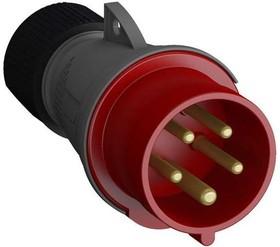 Фото 1/2 Вилка кабельная Easy&Safe 432EP6 32А 3P+N+E IP44 6ч ABB 2CMA101995R1000