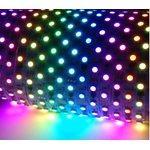 Фото 3/4 85ЦЛ, Комплект цифровой светодиодной ленты 12В, 5м, 14,4Вт/м, smd5050, 60д/м, IP65, подложка 10мм белая