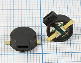 Излучатель звука магнитоэлектрический без генератора 3В/12 Ом, SMD 9x4мм зм 9x 4m11\ 3,0\12\3,2\2C\ SMT09-G04B\KEPO