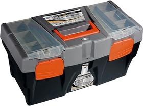 Фото 1/2 90705, Ящик для инструмента, 500 х 260 х 260 мм (20), пластик, Россия