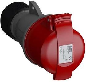 Розетка кабельная 316EC6 Easy&Safe 316EC6 16А 3P+E IP44 6ч ABB 2CMA102012R1000