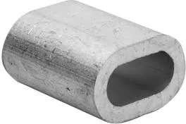 Зажим алюминиевый 3мм DIN3093 для троса