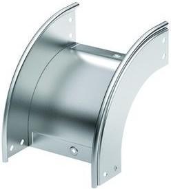 Угол CD 90 вертикальный внешний 90 градусов 100/80 в комплекте с крепежными элементами и соединительными пластинами
