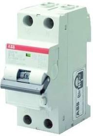 Фото 1/2 Выключатель автоматический дифференциального тока 2п (1P+N) C 16А 10мА тип A 6кА DS201 2мод. ABB 2CSR255140R0164