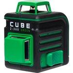 Лазерный уровень ADA CUBE 2-360 Green Ultimate Edition до20м ...