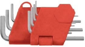 Набор торцевых ключей FIT 64160 шестигранные crv 7шт. (0.7-3.0 мм) в пластиковом держателе