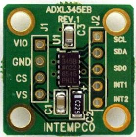 EVAL-ADXL355Z, ADXL355 Accelerometer Sensor Evaluation Board