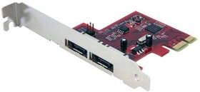 PEXESAT32, 2 PORT DUAL PROFILE PCI EXPRESS